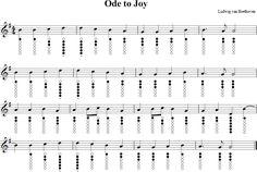 Ode to Joy Sheet Music for Tin Whistle