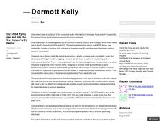 Dermott Kelly is a financial journalist with several years' experience in covering the banking and trading industries. This blog will cover financial topics from both Ireland and the UK, focusing on industry news, polemic issues and expert opinions. To see a discussion of the articles on this Slide Share account, my blog is linked for further information. Please like and share my articles, and take a look at my blog to know more. http://dermottkelly.wordpress.com/