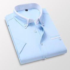 New Fashion, Autumn Fashion, Shirt Collar Styles, Suits 5, Slim Waist, Summer Shorts, Casual Shirts, Men Shirts, Coats For Women