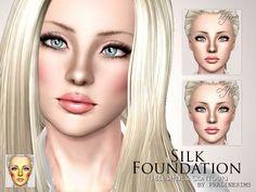 Pralinesims' Silk Foundation (+Blusher&Contour)