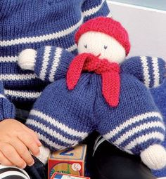 Closer To Truth: Is Time Travel Possible? Filet Crochet, Hand Crochet, Crochet Baby, Knit Crochet, Knitted Dolls, Crochet Toys, Knitted Hats, Loom Knitting, Baby Knitting