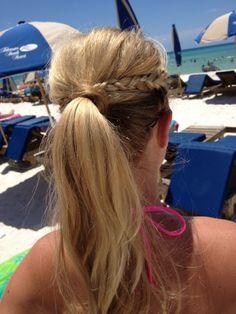 CUTE BEACH HAIR!!!!