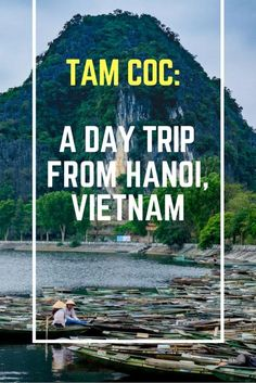 Tam Coc: A Day Trip from Hanoi, Vietnam. Click here to find out more!