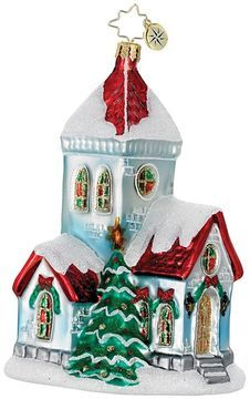 Christopher Radko A Very Merry Mass Ornament on shopstyle.com
