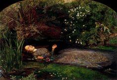 Ophelia (1852), John Everett Millais