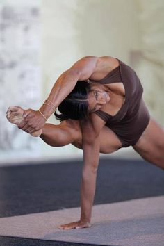 this is on my pose wish list. I am practicing prep work and enjoying the journey. All of the more advanced postures I have been able to do have been fun to break down and progress towards. They don't happen on the first try, so why not enjoy the journey? Namaste.