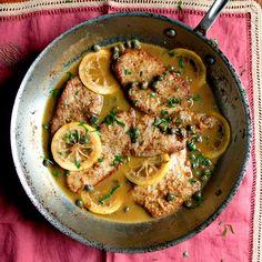 Veal Scallopini Piccata Recipe | SAVEUR