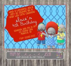 Disney Ella the Elephant Birthday Party by FromTheHartDesign, $15.00