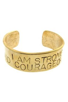 HauteLook | Alisa Michelle Blowout: Strong & Courageous Cuff - Gold