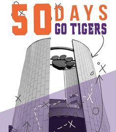 🙌🏼 50 DAYS #allin Clemson Football