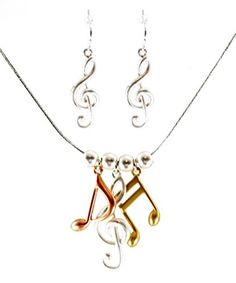 Selfless Gold Tone Starfish Charm Necklace And Earring Set Jewelry Sets