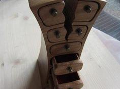 Bandsaw-Box Schmuckkästchen