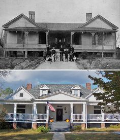 Conyers, GA Then and Now: House on North Main St. by zeusface, via Flickr