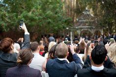 unplugged wedding ceremony twin oaks garden estate