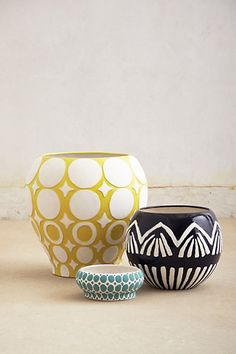 Ormand Garden Pot #anthropologie #anthrofave