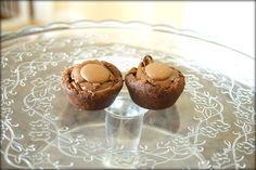 Bite size chocolate tartlets of gorgeousness