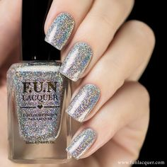 24 Karat Diamond (H) is the holographic version of the original 24 Karat Diamond glitter nail polish. 24 Karat Diamond (H) is added with a precise ...