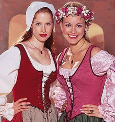 Renaissance maiden costume  McCall's sewing pattern  by Iam4uk, $12.95