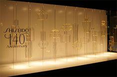 SHISEIDO THE GINZA 2012年6月 ショーウインドー3