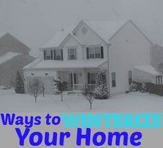 Frugal tips for winterizing your home that will help you save money on heating costs.