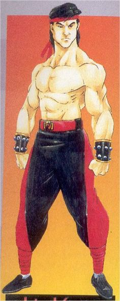 Mortal Kombat 2, Liu Kang, Tobias, Classic, Style, Comics, Art, Derby, Swag