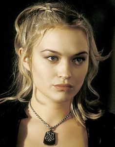 """Sophia Myles: Loaghaire. She just has that """"I'm going to be a spiteful bitch"""" look on her face in this picture ha-ha"""