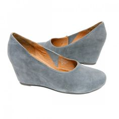 Jeffrey Campbell 'Samantha' Wedge (Grey)