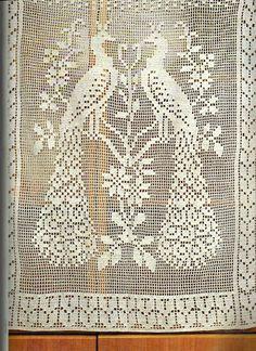 Patterns and stitches – Artofit Crochet Curtains, Crochet Cushions, Crochet Quilt, Crochet Tablecloth, Crochet Pillow, Crochet Motif, Crochet Doilies, Peacock Crochet, Crochet Birds