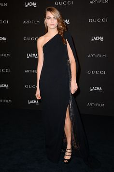 Los tacones de Karppi: Cara Delevigne en Gala LACMA 2014
