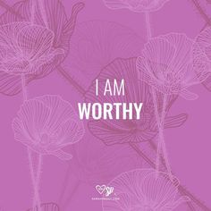 Affirmation: I AM WORTHY. #words #affirmations #manifesting http://www.lawofatractions.com/10-most-common-blocks-prevents-succeeding-business/ http://www.loapower.com/10-most-common-blocks-prevents-succeeding-business/