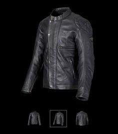 Triumph Steve McQueen Leather Desert Jacket