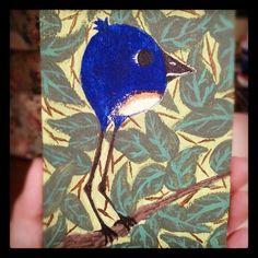 My interpretation of a blue bird