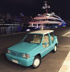 "• Midnight in Monaco. FIAT - STOLA Panda ""Destriero"" 1991' • www.carandvintage.com By @gabrielemorosini #CarVintage  #stola #fiat #panda #art #ferrari #mercedesbenz #porsche #bmw #bugatti #carporn #vintage #firstpost #first #elegance #lux #luxury #luxurycar #luxurylife #f4f #fashion #cars #londoncars #blacklist #newyork #autoporn #automotive #instacar #follow #cool"