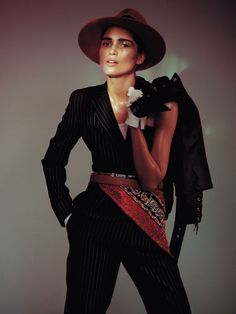 "Hana Jirickova "" Studio Vogue "" by David Sims Vogue Paris February 2015"