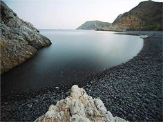 Black Gialos in Chios island, Greece Chios Greece, Places In Greece, Exotic Beaches, Greece Islands, European Travel, Beautiful Beaches, The Good Place, Cool Photos, Water