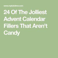 24 Of The Jolliest Advent Calendar Fillers That Aren't Candy