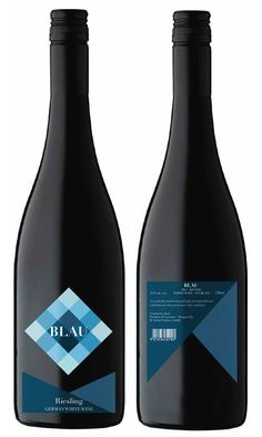 label / Blau wine PD