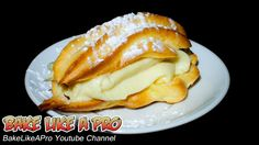 Simply THE BEST Easy Cream Puffs Recipe - Chocolate Eclairs Recipe