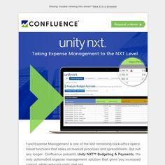 Unity NXT Budgeting