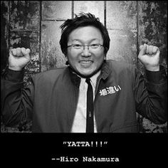Hiro Nakamura - Masi Oka - HEROES MSN is trying to bring it back , u saw it here… Heroes Netflix, Hiro Nakamura, Best Tv Characters, Dramas, Masi Oka, Heroes Tv Series, Hero Tv Show, Heroes Reborn, Tv Show Quotes