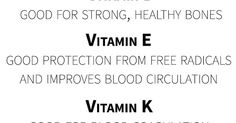 What does each vitamin mean? Learn the benefits of specific vitamins with this great, informational chart!  #vitamins #wellness