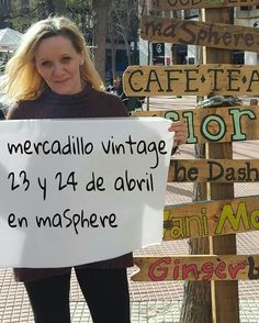 Este fin de semana mercadillo en maSphere. #vintage #masphere #brocante #antiguedades #olavide #chamberi #madrid #mercadillovintage