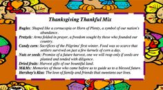 Thanksgiving Thankful Mix