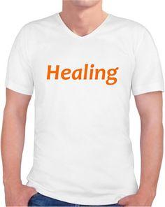 Duygu Özaslan - Healing Kendin Tasarla - Erkek V Yaka Tişört