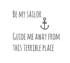 Looking for my sailor