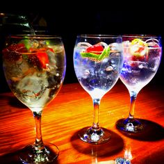 Gintonic & fruit