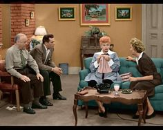 I Love Lucy Always Wondered As A Kid How Did This Apt Look In Color Is The Actual Set Saved Museum Pinterest