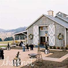 barn rustic wedding @Laura Jayson Ashley