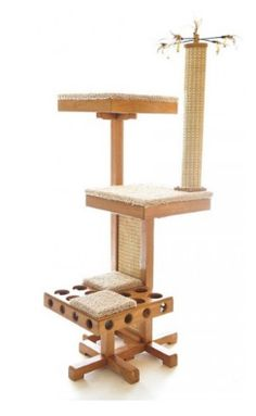 Cool cat trees and towers on pinterest cat trees cat for Interesting cat trees