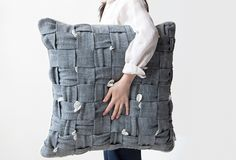 Many of you may be doing Spring cleaning or changing to Spring decor so I've picked some pretty patterned pillows for this week's Design Milk Dairy roundup. Concrete Interiors, Textiles, Perfect Pillow, Portfolio, Pillow Design, Custom Pillows, Design Trends, Design Ideas, Home Furnishings